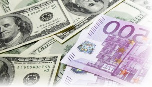 Текущий курс евро к доллару