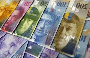 швейцарский франк к рублю
