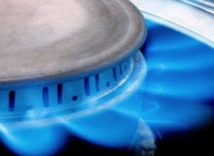 цена на природный газ