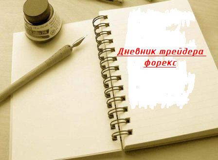 Дневник трейдера форекс